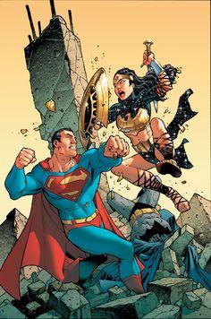 Superman/Batman #15 by Carlos Pacheco