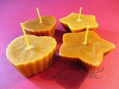 Little Muffin Shaped Beeswax Candles by Helviriitta.deviantart.com on @DeviantArt