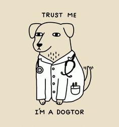 Dogtor - BustedTees - Image 0