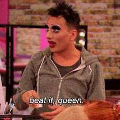 The winner of R uPaul's Drag Race season 6 has officially been crowned! Arguably the funniest queen to ever compete on the show, Bianca Del Rio and her rolodex of hate led the charge this year, as. Drag Racing Quotes, Race Quotes, Quotes Gif, Bianca Del Rio Quotes, Rupaul Drag Race Winners, Drag Race Season 6, Raja Gemini, Alaska Thunderfuck, Rupaul Drag Queen