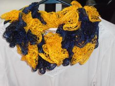 Hey, I found this really awesome Etsy listing at https://www.etsy.com/listing/176426105/team-spirit-sashay-scarf