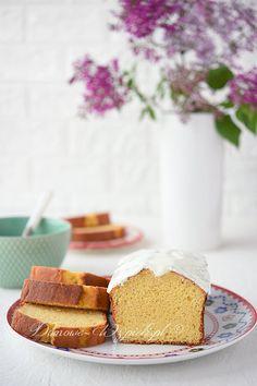 Babka jogurtowa bez glutenu Dessert Recipes, Desserts, No Bake Cake, Vanilla Cake, Gluten Free, Sweets, Cookies, Baking, Gluten Free Cooking