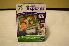 NEW IN BOX LeapFrog Leapster Explorer Camera & Video Recorder 4-9 Years #LeapFrogLeapFrog