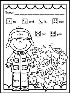 "These ""Roll, Read, and Color"" printables are a snap to put to use in your classroom! They can be used for Morning Work, Word Work Centers, Homework, etc…  These are ready to print and go! Simply, print, add a number cube and crayons, and your kiddos are ready to go!  Since these printables all follow the same predictable format, you can introduce and once your students master the concept, they will find success while practicing essential sight words without further instruction time!"