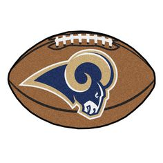 Decorate your home, office, fan cave, kids room or just about anywhere with this high quality Football Shaped Mat from Fanmats! Using a Chromojet printing process, the team colors are injected into th