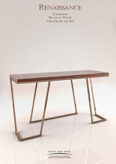 Renaissance Console - Designer Monzer Hammoud - Pont des Arts Studio - Paris