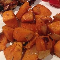 Sweet and Spicy Sweet Potatoes - Allrecipes.com