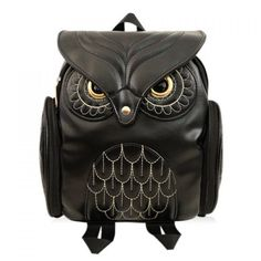 Black Owl Pattern an