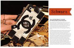 Chanel Diamanten Baukasten Hülle für iPhone 4/4S/5/5S/6/6 Plus und Samsung S4/S5 und Note2/Note3 - spitzekarte.com