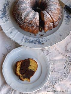 grain de sel - salzkorn: Blogbuster: Der Klassiker unter den Rührkuchen, der Marmorkuchen