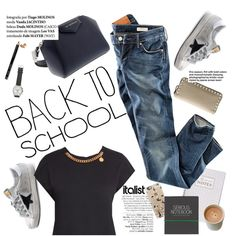 How To Wear Back to School Outfit Idea 2017 - Fashion Trends Ready To Wear For Plus Size, Curvy Women Over 20, 30, 40, 50