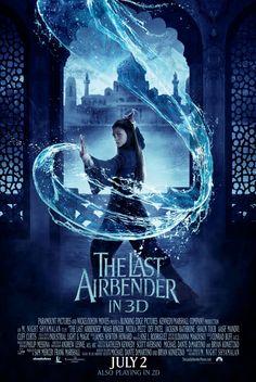 The Last Airbender poster, t-shirt, mouse pad The Last Airbender Movie, Water Bending, Water Aesthetic, Rhapsody In Blue, Nicolas Peltz, Elemental Magic, Water Powers, Avatar Aang, Avatar Airbender