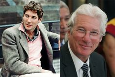 A mozivászon legnagyobb szívtiprói régen és ma Celebrities Then And Now, Richard Gere, Handsome Actors, Hollywood, Celebs, People, Fictional Characters, Gorgeous Men, Weather