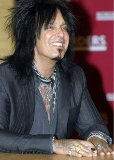 My favorite rocker, Nikki Sixx, what a personality! #MotleyCrüe