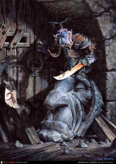 Paul Bonner Fantasy Illustration  http://www.paulbonner.net/