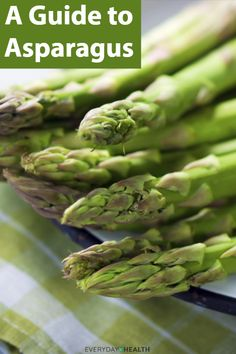 Learn the health benefits of #asparagus.