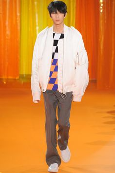 Off-White, Look #22 Fall Winter 2016 - Paris Man Fashion Week - Bxy Frey