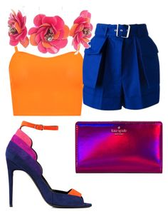 """""""Sin título #92"""" by mjcanogu on Polyvore featuring moda, Pierre Hardy, Kate Spade, WearAll, Alexander McQueen y Forest of Chintz"""