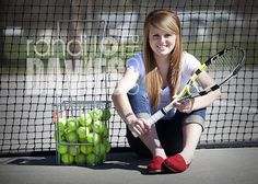 Softball bucket, indent of a fence, with the field behind it(: tennis senio Tennis Senior Pictures, Tennis Photos, Senior Photos, Senior Portraits, Team Pictures, Team Photos, Sports Photos, Sports Images, Senior Picture Makeup