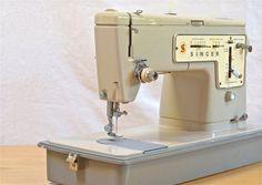 Vintage Singer Sewing Machine Stylist Zig by CassiesTaleVintage, $124.99