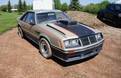 Another part of Lawayne Musselwhite's barn find is this 1979 Ford Mustang pace car.