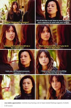 May's sad look when she says she wishes her mother is everything she wanted her to be tho