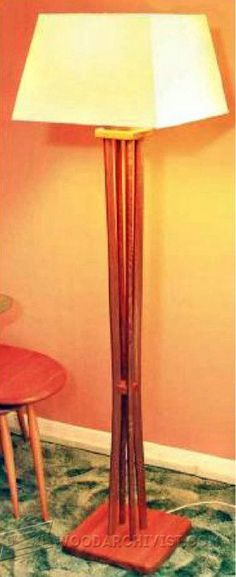 Tripod Wood Floor Lamp – First of a Kind | Gameroom | Pinterest ...