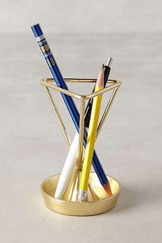 Anthropologie - Angled Heirloom Pencil Holder