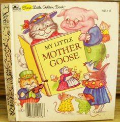 My Little Mother Goose - Little Golden Book