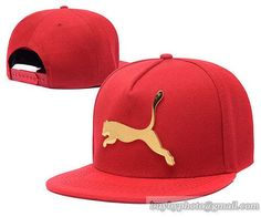 9f647952cfd Puma Iron Standard Hip-Hop Snapback Caps Hats Hat Red Men s Fashion