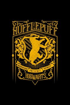 with this design Design of beautiful fan art of Hufflepuff. Show your love of Harry Potter anywhere, you can get thi Harry Potter Poster, Saga Harry Potter, Harry Potter Quotes, Harry Potter Love, Harry Potter Universal, Harry Potter Hogwarts, Casas Estilo Harry Potter, Hufflepuff Wallpaper, Harry Potter Background