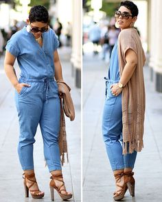 Check out my @oldnavy Chambray Jumpsuit and Fringe Vest now on the blog! Plus my other top pick from the boho collection. (Link in bio) #ad MimiGStyle.com #OldNavyStyle
