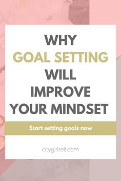 Why goal setting is important // Set goals, create habits, increase productivity and improve your mindset with this guide. Click now to learn more.
