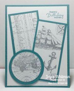 The Open Sea Masculine Card