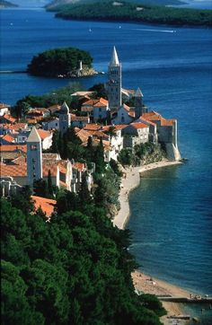Rab, Island off the coast of Croatia. Wonderful wiew!.. :)