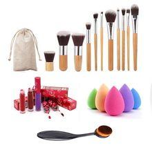 Nova Maquiagem Profissional Escova 11 Maquiagem Escova + escova de Dentes 1…