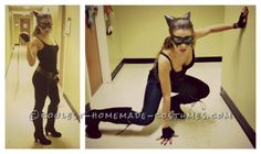 Coolest Homemade Cat Woman Costume... This website is the Pinterest of costumes