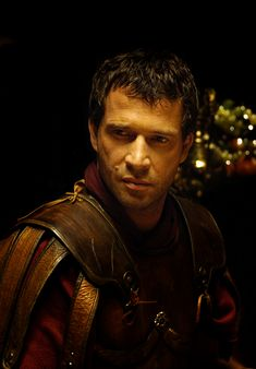 Mark Antony. HBO Rome.  James Purefoy.  OMG, I loved this show so much, I bought both seasons through Amazon, and re-watch it over and over.  I'm SUCH a Roman history geek.  Why, I don't know