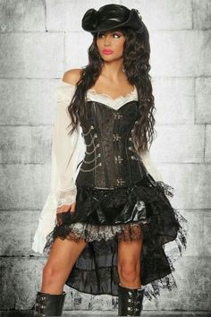 New Fantasy Imported Fresh From The Other WorldCorset Via Hot Steampunk Girls