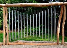 Léčivé zvonkohry Music Garden, Outdoor Structures