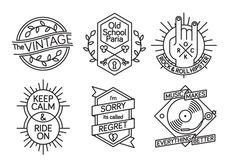 Part 2: 10 Minutes Emblems by mmn mrmmn rosnan, via Behance