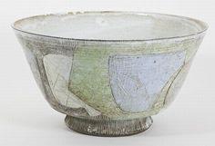 Dirk Hubers (1913-2003),  sgrafitto bowl