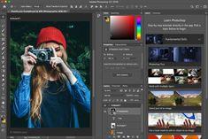 retouches photos avec logiciel Download Adobe Photoshop, Learn Photoshop, Photoshop Edits, Lightroom, Image Editing, Video Editing, Service A Domicile, Mac Software, Travel Photos