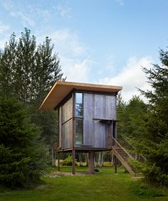 Everything they do is magic! Sol Duc Cabin designed by Olson Kundig and built in Olympic Peninsula, WA, 2011