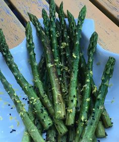 Grilled Asparagus with Olive oil Black Sesame Buddha's Hand Zeste #luchiachia #chef #chefconsultant #foodblogger #foodblog #asparagus #organic #healthyeating #healthyfood #healthy #dinner #delicious #yummy #yummyfood #foodie #foodiegram #foodlover #instafood #siliconvalley #bayarea #sanfrancisco #california #photooftheday
