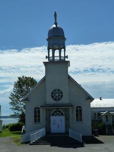 Escuminac (église Notre-Dame-de-la-Garde), Québec, Canada (48.080330, -66.537550)