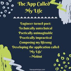 Poem: 'The App Called My Life