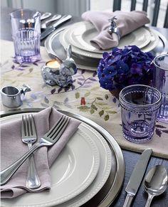 Сервировка стола. Посуда, текстиль, аксессуары