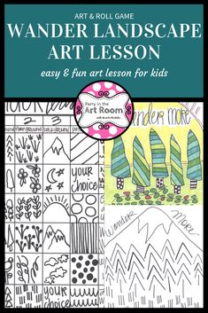 Engaging art lesson with language (writing) activities. No-prep art projects are perfect for your art sub tub. Super easy to implement for substitute teachers. Plus, the engagement will help with behavior! Perfect to start your art integration activities or to use as mini-lessons in larger units. Writing prompts and center printables. Great for homeschooling, language arts teachers, and art teachers alike. This resource is adaptable across multiple grade levels. Differentiation ideas…
