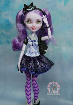 Beat nono / strange monster high monsterhigh school / high school fairy tale / can children / change the makeup of finished -15-2- Taobao
